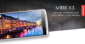 Lanzamiento de Lenovo Vibe X3 27 de enero en India confirmado