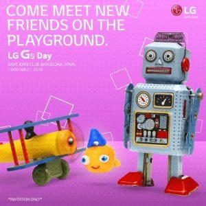 LG G5 se presentará el 21 de febrero