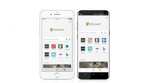 El navegador Microsoft Edge ahora está disponible para Android e iOS