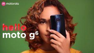 Moto G6 y Moto G6 Play se lanzarán pronto en India