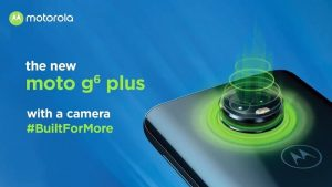 Moto G6 Plus con Snapdragon 630 SoC, 6 GB de RAM y cámaras traseras duales se lanzará en India el 10 de septiembre