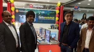 Motorola abre su primer Moto Hub en Hyderabad