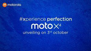 Moto X4 con cámaras traseras duales y Snapdragon 630 SoC debuta en India el 3 de octubre