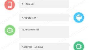 Moto Z Play visto en AnTuTu con Snapdragon 625 SoC y 3 GB de RAM