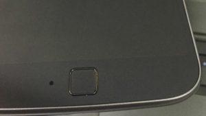 Imágenes en vivo de Moto G4 con superficie de escáner de huellas digitales en línea