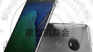 Presione render de Moto G5 Plus filtrado