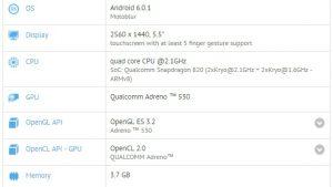Moto X (2016) aparece en GFXBench con cámaras duales, Snapdragon 820 SoC y 4 GB de RAM