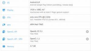 La lista de GFXBench revela las especificaciones de un posible Moto X (2016)