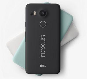 Nexus 5X recibe una barra de precios;  Desde $ 349