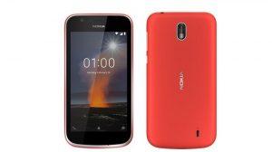 El teléfono inteligente Nokia 1 Android Oreo (Go Edition) lanzado en India
