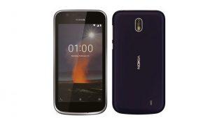 Pulse renders de la superficie de nivel de entrada de Nokia 1 en línea, probablemente se lance a finales de este mes