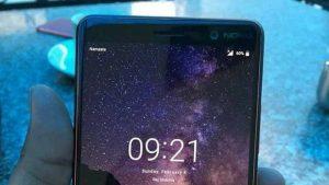 La imagen en vivo de Nokia 7+ aparece en línea