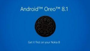 La actualización de Nokia 8 Android 8.1 Oreo comienza a implementarse