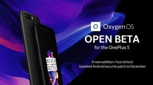 OnePlus 5 obtiene la función de desbloqueo facial a través de la actualización de OxygenOS Open Beta 3
