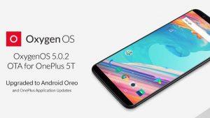 OnePlus 5T recibe la actualización OxygenOS 5.0.2 basada en Android 8.0 Oreo
