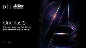 OnePlus 6 x Marvel Avengers Limited Edition se lanzará en India el 17 de mayo