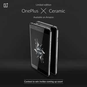 La edición OnePlus X Ceramic ahora está disponible en Amazon India a un precio de Rs.22,999