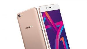 OPPO A71 (2018) con Snapdragon 450 SoC y tecnología de reconocimiento de belleza AI lanzada en India