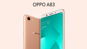 OPPO A83 con pantalla completa de 5.7 pulgadas y cámara de 13 MP lanzada en India