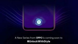 OPPO lanzará pronto un nuevo teléfono inteligente en India con escáner de huellas dactilares en pantalla, podría ser el OPPO K1