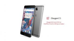 Lanzamiento de OxygenOS 3.2.6 para OnePlus 3