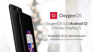 Actualización de OxygenOS 5.0 basada en Android 8.0 Oreo que se implementará en OnePlus 5;  Esto es lo que viene con [Update: Release cancelled]