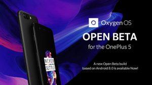 La actualización OxygenOS Open Beta 2 basada en Android 8.0 Oreo ya está disponible para OnePlus 5