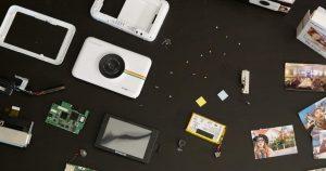 Cracking Abrir el combo de impresora de cámara Polaroid Snap Touch