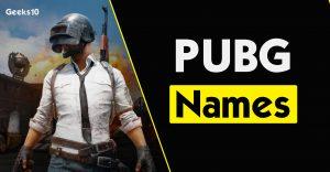 Los mejores nombres de PUBG 2020: nombres geniales, elegantes, divertidos y de habitaciones