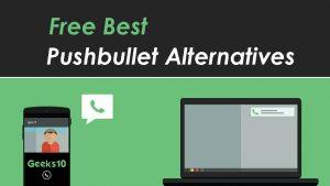 Las mejores alternativas de Pushbullet de 2020