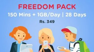 RCom ofrece llamadas de voz gratuitas y 1 GB de datos por día a ₹ 349 durante 28 días