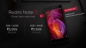 Xiaomi Redmi Note 4 obtiene un recorte de precios permanente en India