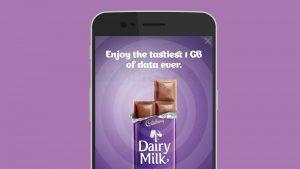 Reliance Jio ofrece 1 GB de datos gratis con Cadbury Dairy Milk