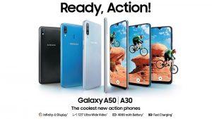 Samsung Galaxy A30 y Galaxy A50 lanzados en India: aquí están las especificaciones, el precio y los detalles de disponibilidad