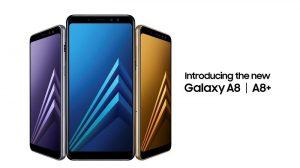 Samsung Galaxy A8 (2018) y Galaxy A8 + (2018) anunciados con Infinity Display y cámaras frontales duales