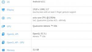 Especificaciones del Samsung Galaxy C7 reveladas en GFXBench