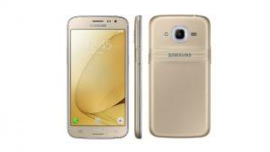Renders de la superficie de Samsung Galaxy J2 (2016) en línea que muestran el anillo de notificación Smart Glow