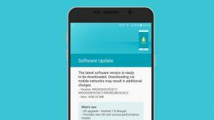 Samsung Galaxy Note5 recibe la actualización de Android 7.0 Nougat en India