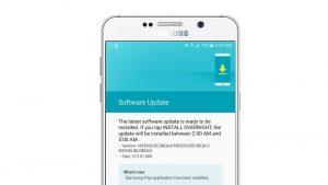 La última actualización trae la aplicación Samsung Pay en Galaxy Note5 en India