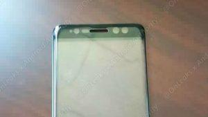 El panel frontal filtrado confirma el escáner de iris en el Samsung Galaxy Note7