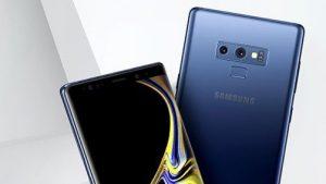 El renderizado de prensa filtrado y la imagen en vivo confirman que el Samsung Galaxy Note9 no vendrá con un escáner de huellas dactilares en pantalla