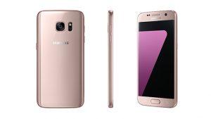 Samsung lanza la variante de color rosa dorado de Galaxy S7 y S7 Edge