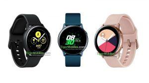 Samsung informó que abandonó el anillo de bisel en Galaxy Watch Active