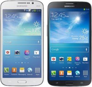 Samsung Galaxy Mega 5.8 y Galaxy Mega 6.3 lanzados