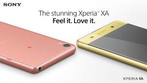 Sony Xperia XA Dual ahora disponible en India por ₹ 20,990
