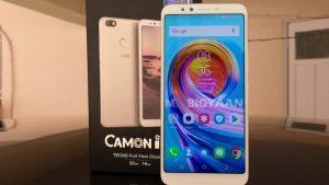 Tecno Camon i Click lanzado en India con pantalla de 6 pulgadas 18: 9 y cámara frontal de 20 MP con funciones basadas en IA