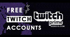 Cuentas premium gratuitas de Twitch 2021 (en funcionamiento)
