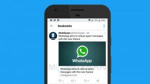 Los usuarios de Twitter ahora pueden guardar tweets para verlos más tarde con esta nueva función