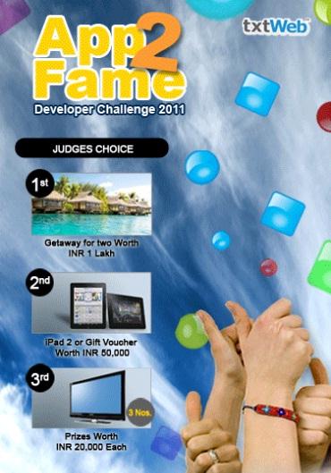 txtWeb App2Fame Challenge 2011