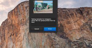 Publica fotos desde tu Mac con Uploader para Instagram